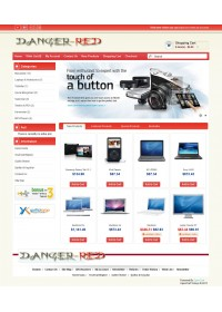 Opencart 1.5.1.x.Danger-Red Tema