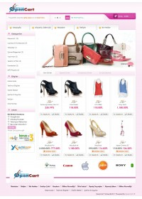 Opencart 1.5.1.x. Light Pink Tema